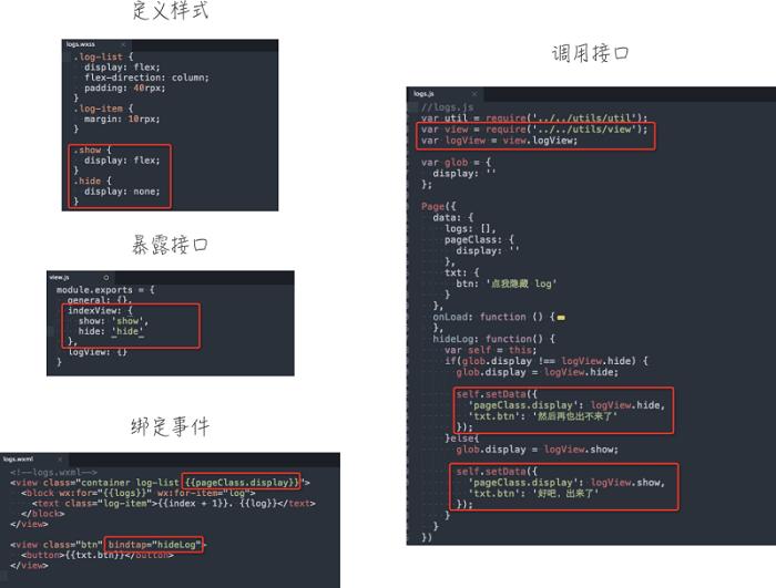 微信小程序代码要怎么写?