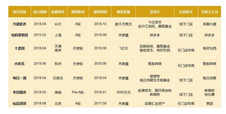 2019年社区团购成功案例分享